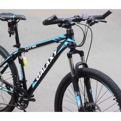 """Kokybiškas dviratis Galaxy MTB 19 / 27.5"""" kalnų dviratis"""