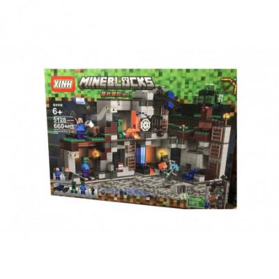 MEGA didelė tvirtovė - Lego Minecraft analogas 660 detalių
