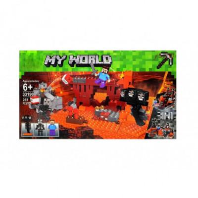 Tvirtovės Gynyba - Lego Minecraft analogas 287 detalės