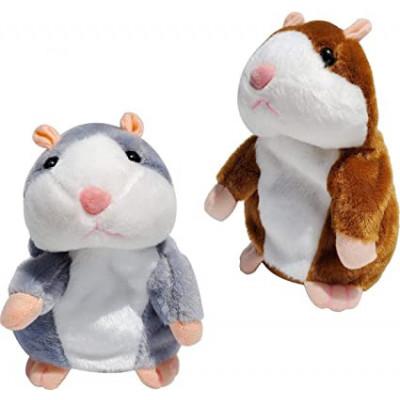 Žaislinis žodžius atkartojantis ir judantis žiurkėnas