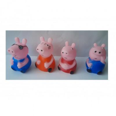 Peppa Pig žaisliukų rinkinys 4vnt.
