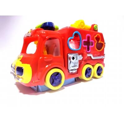 Lavinamoji gaisrinė mašina...